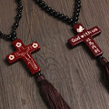 Car Pendant Cute Cross Jesus Crucifix Car styling Auto Supplies Accessories Car Decoration Pray Blessing