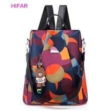 HIFAR Fashion Oxford Backpack Women Anti Theft Girls Bagpack Schoolbag for Teenagers Casual Daypack Sac A Dos mochila