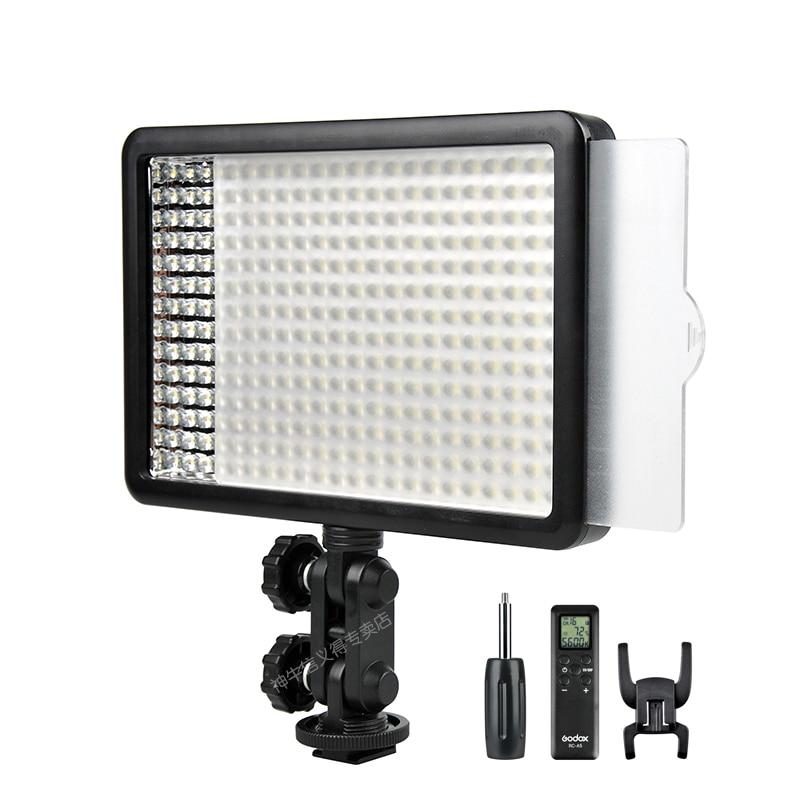 New Godox 308C Bi Color Dimmable 5500K 3300k LED Video LED Video Studio Light Lamp Professional