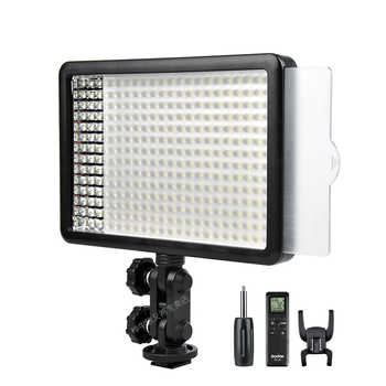 New Godox 308C Bi-Color Dimmable 5500K/3300k LED Video LED Video Studio Light Lamp Professional Video Light with Remote control - Category 🛒 Consumer Electronics