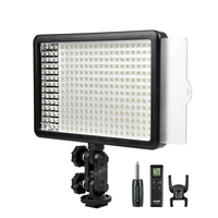 New Godox 308C Bi Color Dimmable 5500K/3300k LED Video LED Video Studio Light Lamp Professional Video Light with Remote control