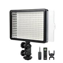Nova Godox 308C Regulável Bi Color 5500K/3300k LED Luz de Vídeo LED Video Studio Lâmpada Profissional luz de vídeo com controle Remoto