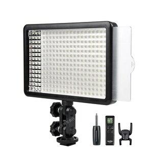 Image 1 - 新godox 308C 2 色調光可能な 5500 18k/3300 5400k led ledビデオスタジオライトランププロビデオライトリモコン
