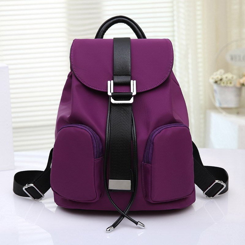 New Nice Ladies Backpack Bags Elegant Kawaii School Bag Brand Nylons Backpack for Kids Top Quality