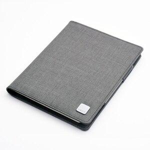 Image 5 - KACO ALIO 블랙 그레이 비즈니스 회의 선물 세트 A5 느슨한 나선형 노트북 개폐식 블랙 잉크 젤 펜 스토리지 패브릭 커버 세트
