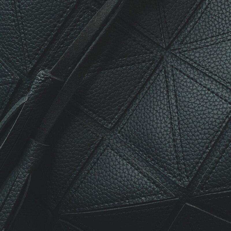 moda fita bolsa acolchoado balde Color : Black, gray, brown Pink