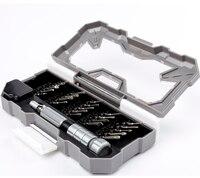 Original nanch chave de fenda magnética conjunto de precisão ferramenta de desmontagem diária para eletrônica multi comprimento chave de fenda 24 em 1 Chave de fenda     -