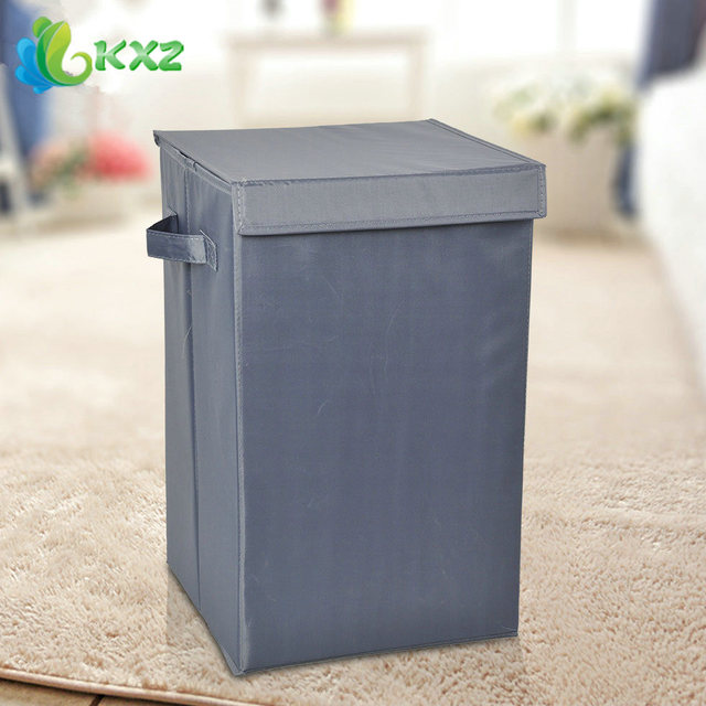 Oxford Fabric Covered Laundry Storage Box Bin Folding Clothes Bag Children Kids Toys Organizer Container Sorting