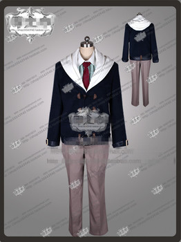 Blast of Tempest Takigawa Yoshino Casual Fashion Uniform Suit Cosplay Party Costume Any Size Free Shipping