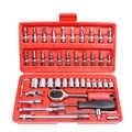 46 pcs acciaio al carbonio combinazione set di utensili a mano manuale hardware cacciavite chiave auto di famiglia strumento di riparazione di vendita
