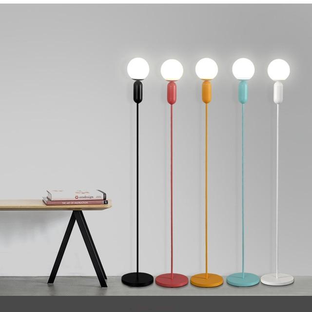 Moderne vloerlamp Maccaron led vloerlamp woonkamer slaapkamer ...