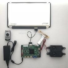2 HDMI + VGA + DP + Áudio 4 K suporte placa controladora LCD DIY 15.6 polegada módulos lcd com 3840*2160