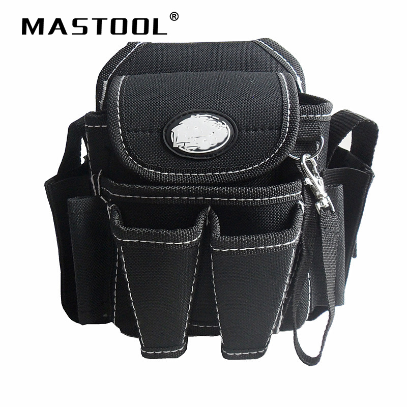 Multifunction Tool Waist Bag Multiple Pouch High-grade Electrician Bag Hardware Dedicated Repair Kit Thick Durable Tool Bag