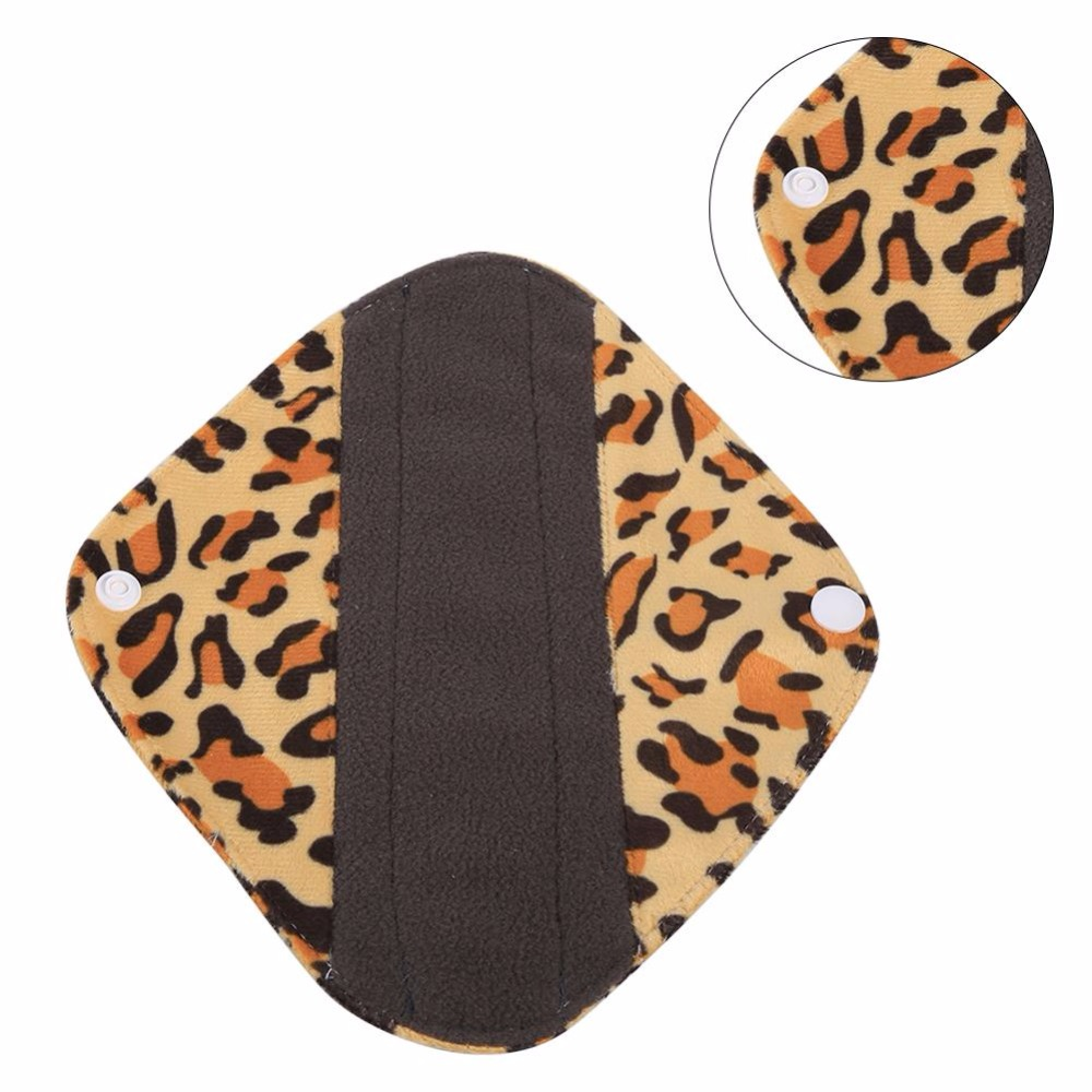 1Pcs Reusable Washable Women Menstrual Pads Bamboo Cloth -9142
