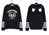 Nieuwe Hoogwaardige Leuke Kumamon Mooie Beer jas/Hoodie Sweater
