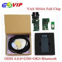 Free Shipping Best Quality VAS5054A Bluetooth VAS 5054A Full Chip ODIS V3 0 3 Support UDS