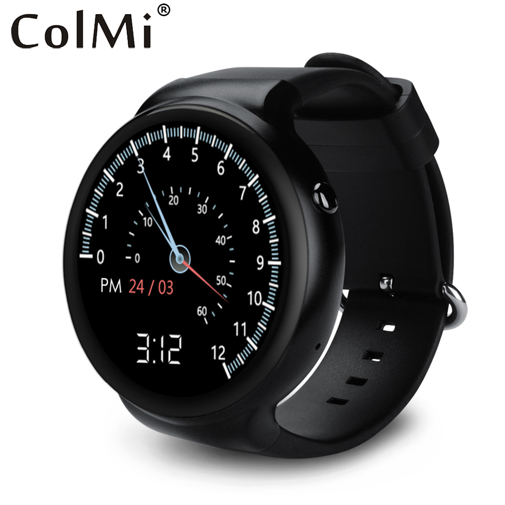 Prix pour Colmi vs115 smart watch android 5.1 os 1 gb ram 16 gb rom wifi 3g gps moniteur de fréquence cardiaque bluetooth mtk6580 quad core smartwatch