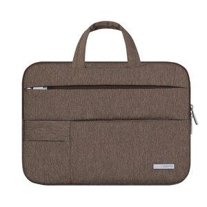 Image 4 - 13 14 15.6 Man Felt Shoulder Handbag Notebook Laptop Sleeve Bag Pouch Case For Xiaomi Acer Dell HP Asus Lenovo Macbook Pro Air