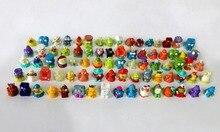 25-200 Pçs/lote O para U Originais Compras A Gangue Grossery Mini Figuras de Ação Brinquedos Garoto Popular Jogando Modelo bonecas de Presente