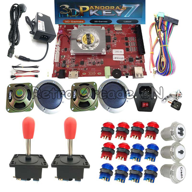 Miraculous Diy Full Kit With Pandora 7 3D Pcb Board 2177 In 1 With Wires Cable Wiring Digital Resources Operpmognl