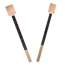 цена на Finest Guitar Maple Wood Neck Rosewood Fretboard Unfinished DIY Guitar Neck  Cigar Box Guitar for Cigar Box Guitar Accessory