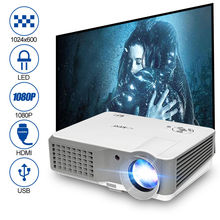 LCD Digital Projector Portable Proyector LED Beamer Home Theater 3800 Lumens Video TV for Smartphone DVD Tablet