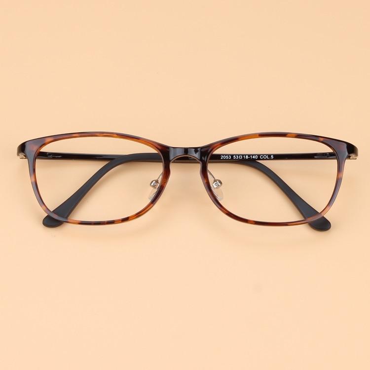 High End Women s Eyeglass Frames : Korean High end Men Vintage Brand Tungsten Glasses Frame ...