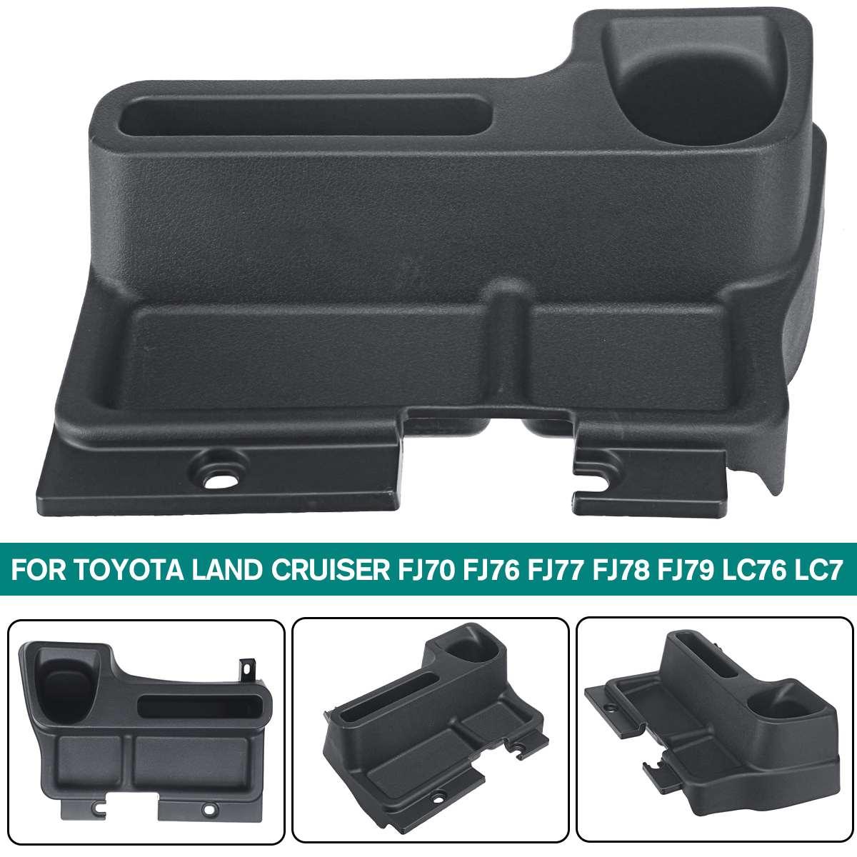 Car Accessories Plastic Storage Box Tray Insert Center console Box For Toyota Land Cruiser FJ70 FJ76 FJ77 FJ78 FJ79 LC76 LC77(China)