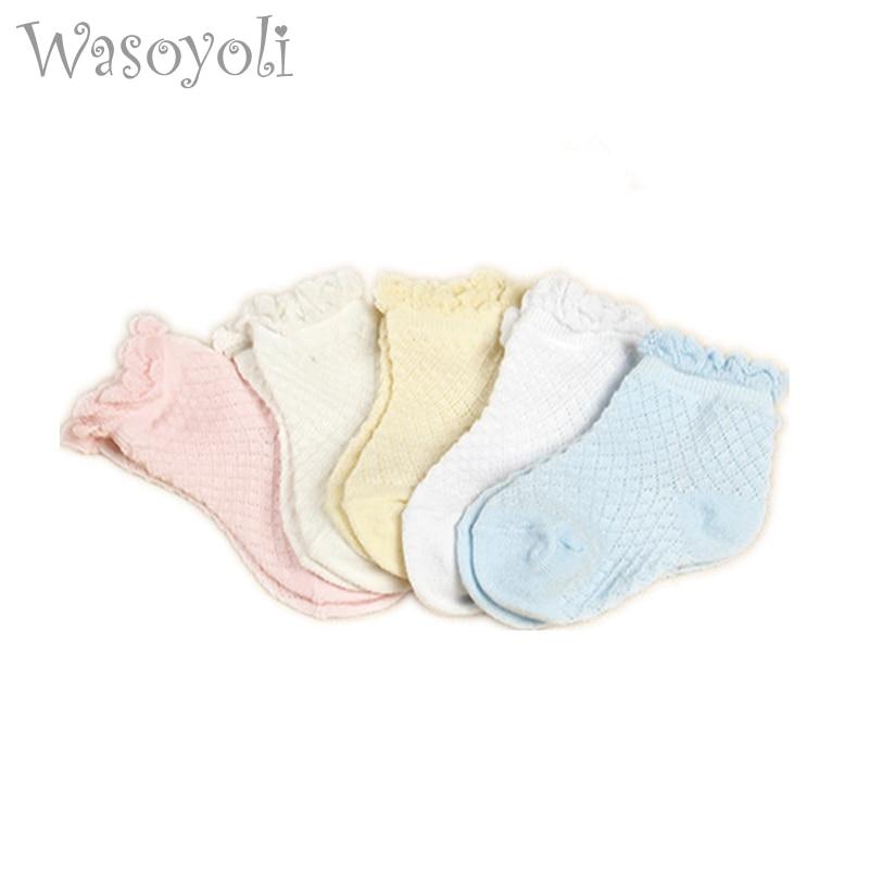 Wasoyoli Baby Laciness მოკლე წინდები 5 - ტანსაცმელი ჩვილებისთვის - ფოტო 1
