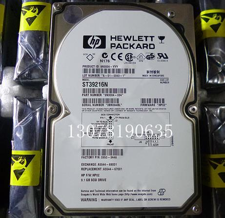 3 years warranty  100%New and original   ST34573N ST39216N 50PIN SCSI 9.1G 4.5G