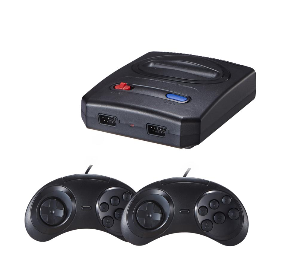 2018 New 16 Bit Super Mini MD TV Video Game Console for Sega game cartridge