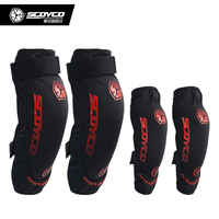 SCOYCO K18H18 Motorcycle Protective kneepad Knee Elbow Protector equipment joelheiras de motocross CE Approval Guards racing