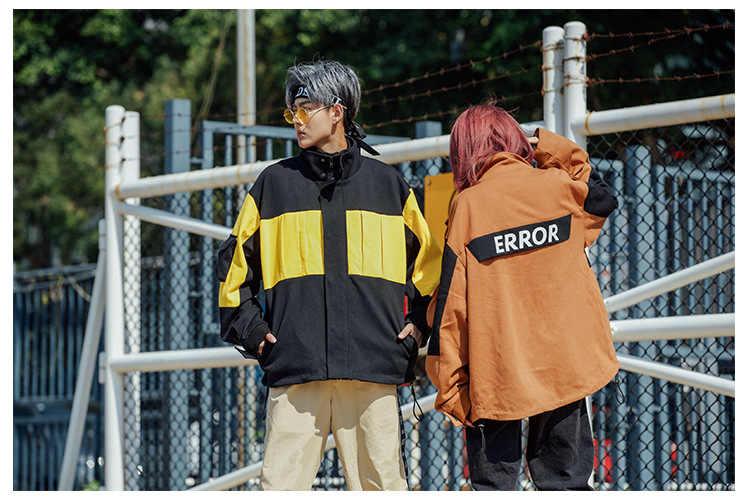 2019 зима Xieruis лучшее качество Цвет Блокировка ошибка печати для женщин и мужчин хлопковая стеганая куртка пальто хип-хоп Мужская теплая куртка
