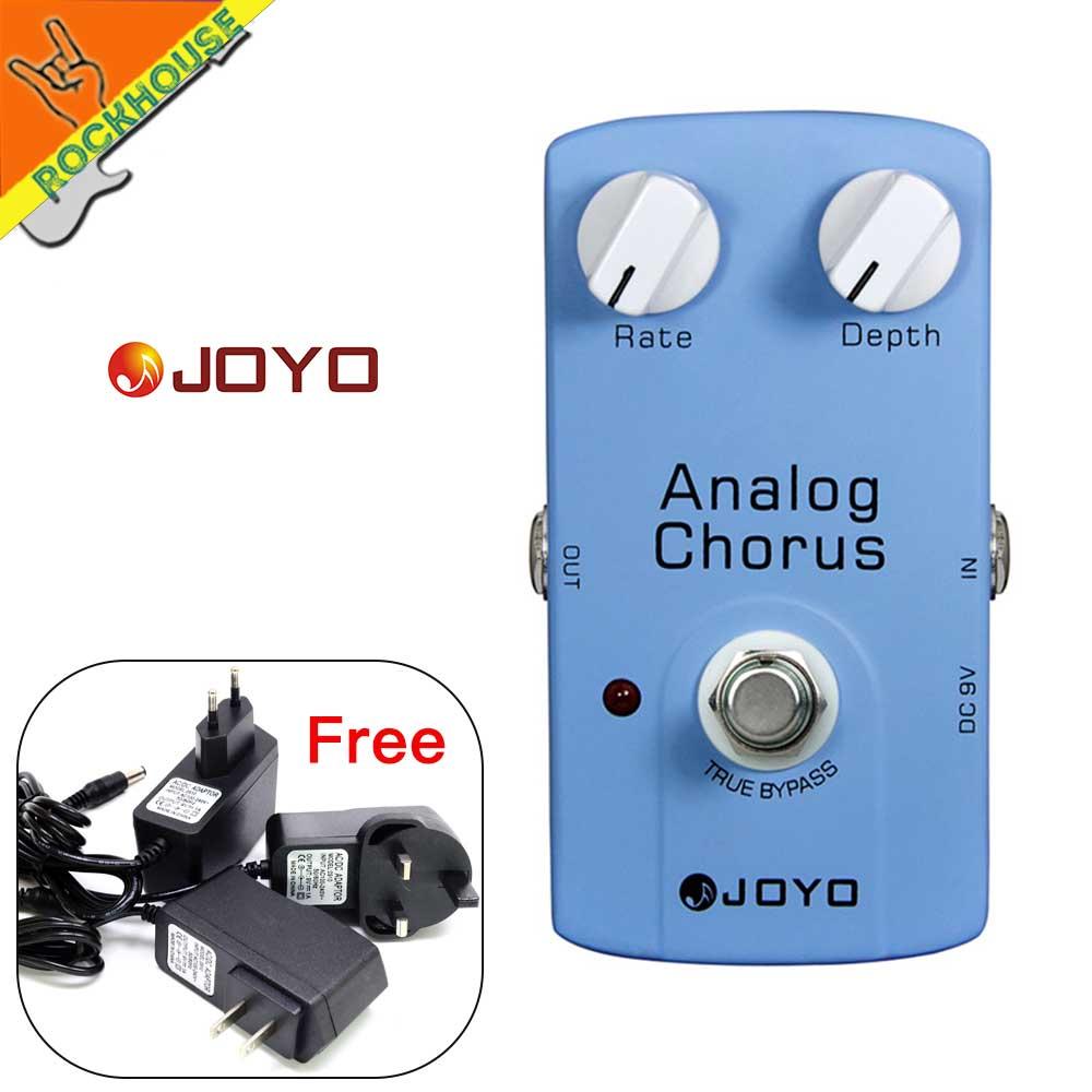 JOYO Analoog refrein Gitaareffecten Pedaal Klassiek refrein Stompbox - Muziekinstrumenten - Foto 1