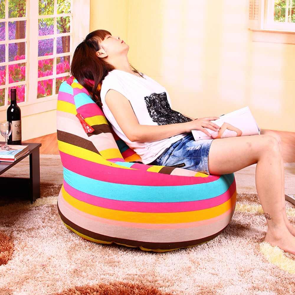 LEVMOON beanbag espreguiçadeira sofá sacos de feijão cadeira roon vida sitzac apenas cobertura beanbag sem o recheio