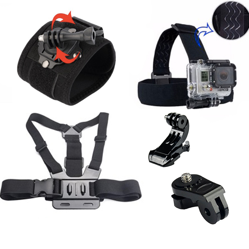 Accessories Head Strap Chest Harness Wrist Strap For Sony Action font b Camera b font AS15