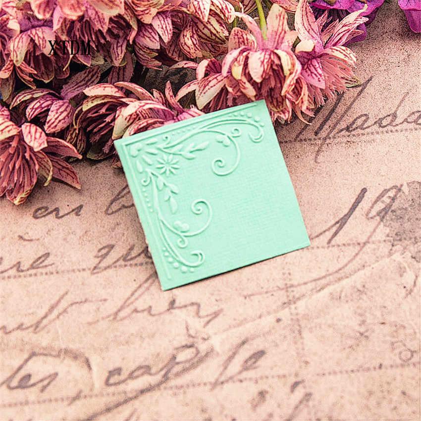 HOT plastic wijnstok template craft card making papieren kaart album bruiloft decoratie scrapbooking Embossing mappen