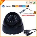 HD 1280*720 P Câmera IP Sem Fio Indoor Dome Câmera de Segurança 1MP Megapixel Wifi Câmera IP Com Wi-fi Interna módulo & Antena