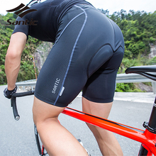 SANTIC Cycling Shorts Summer Breathable Bicycle Coolmax 4D Padded Tights Mens Autumn Sports Underwear