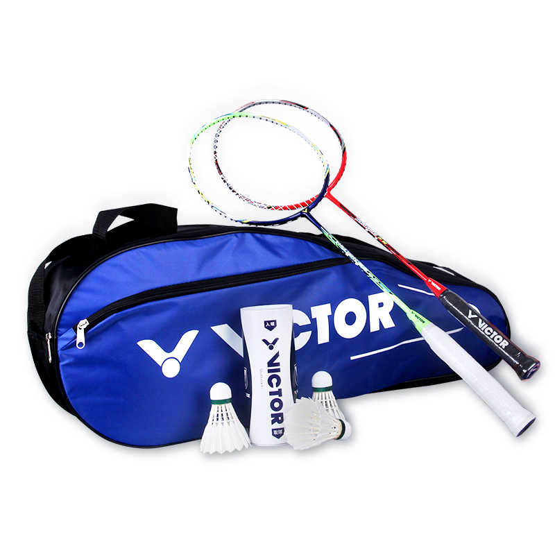 New VICTOR Racket Backpack Sports Badminton Bag Single Shoulder (for 6 Rackets) Racket Bag Gym PG-581F 75*28*13cm