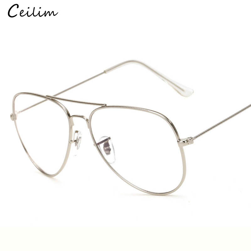 2019 Fashion Clear Glasses Women Optical Frames Myopia Lunette Female - Kläder tillbehör - Foto 2