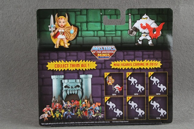 He-Man Masters of the Universe  Mini Figure She-Ra
