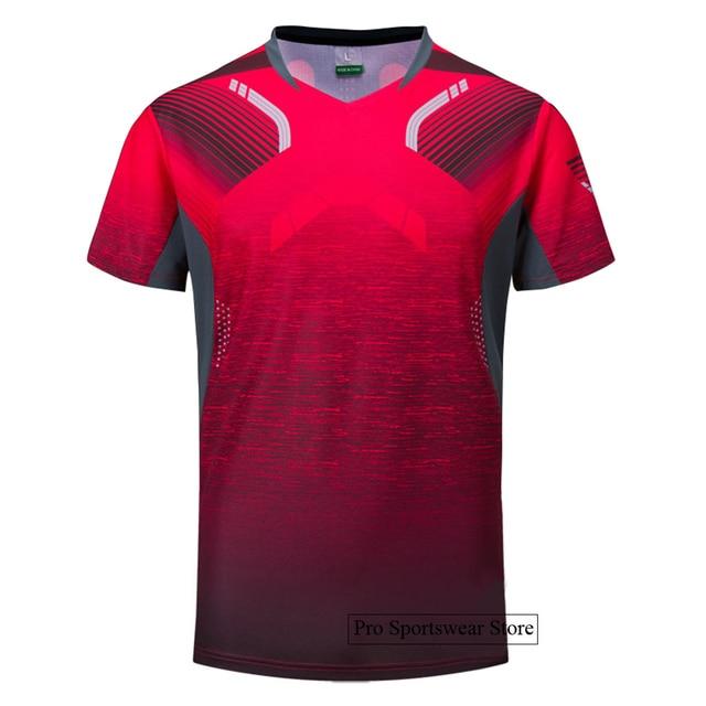 2018 Badminton shirts Men / Women, sports Gym clothing Tennis shirts , table tennis shirt , running tshirt 1025 1