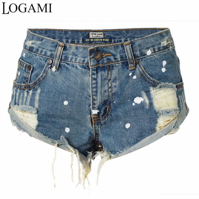 Micro Mini Denim Shorts