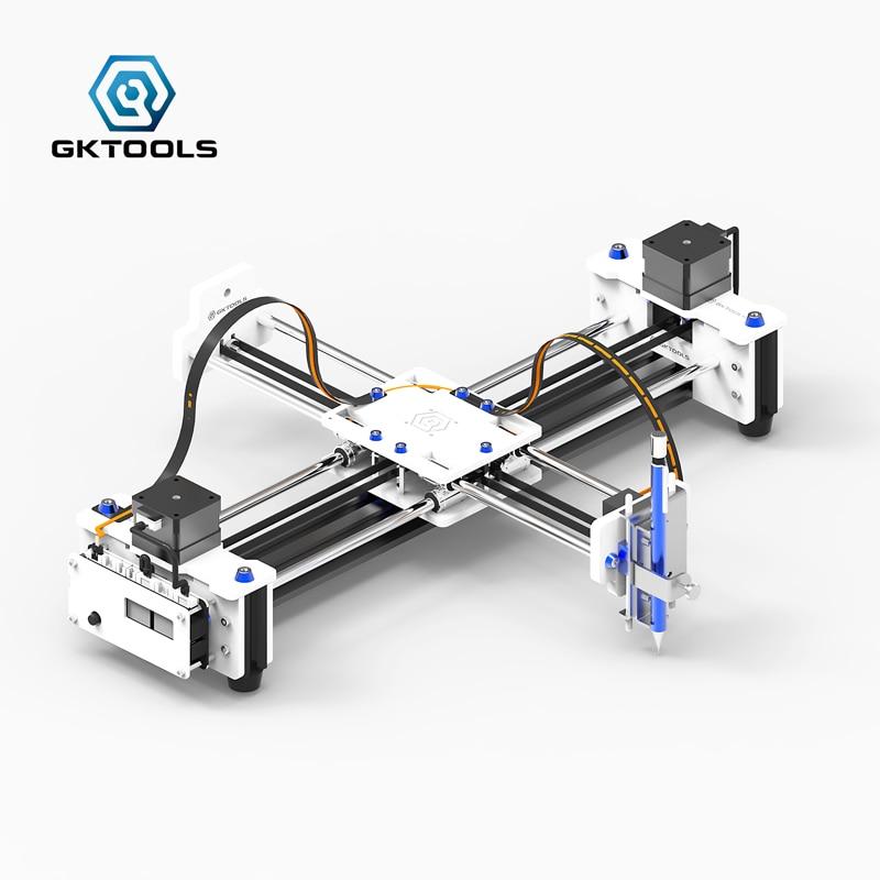 GK A3 DIY GRBL plotter Drawbot Pen CNC Drawing Machine Lettering Writing Robot Corexy XY Drawing Robot Kit Drawing Toys портал сайт