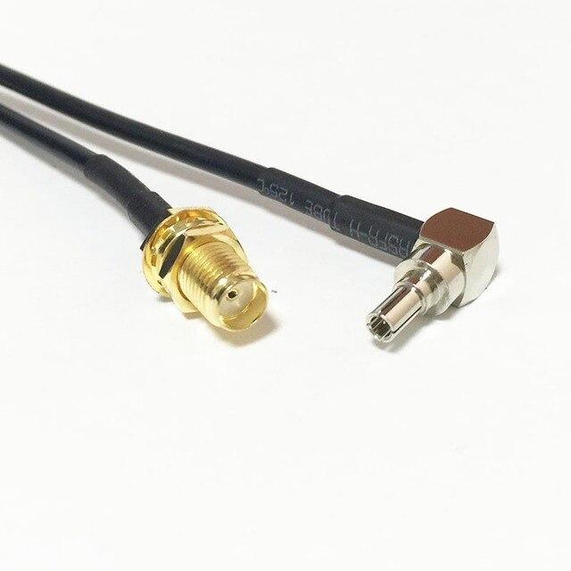New Wireless Modem Wire SMA Female Jack nut Switch CRC9 Right Angle ...