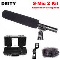 Божество S Mic 2 комплекта главное внеосевой Высокая чувствительность низким уровнем шума направленный микрофон Rycote подвесом для профессион