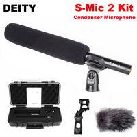Deity S Mic 2 Kit Superior Off axis High Sensitivity Low noise Directional Microphone Rycote Shock Mount for Professional Film