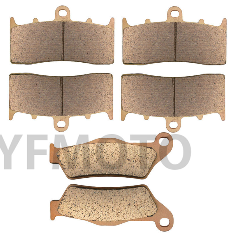 Motorcycle Front & Rear Brake Pads Kit For R1200C R 1200C R1200 C Montauk 2004-2005  Brake Disks mfs motor motorcycle part front rear brake discs rotor for yamaha yzf r6 2003 2004 2005 yzfr6 03 04 05 gold