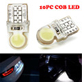 T10 194 168 W5W COB 8 SMD LED CANBUS Silica Bright White License Light Bulb